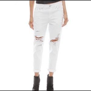Res Denim white jeans romeo ripped destroyed 26
